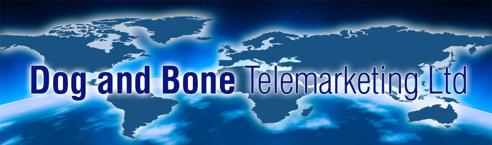 Telesales and telemarketing specialists - Dog and Bone Telemarketing Limited
